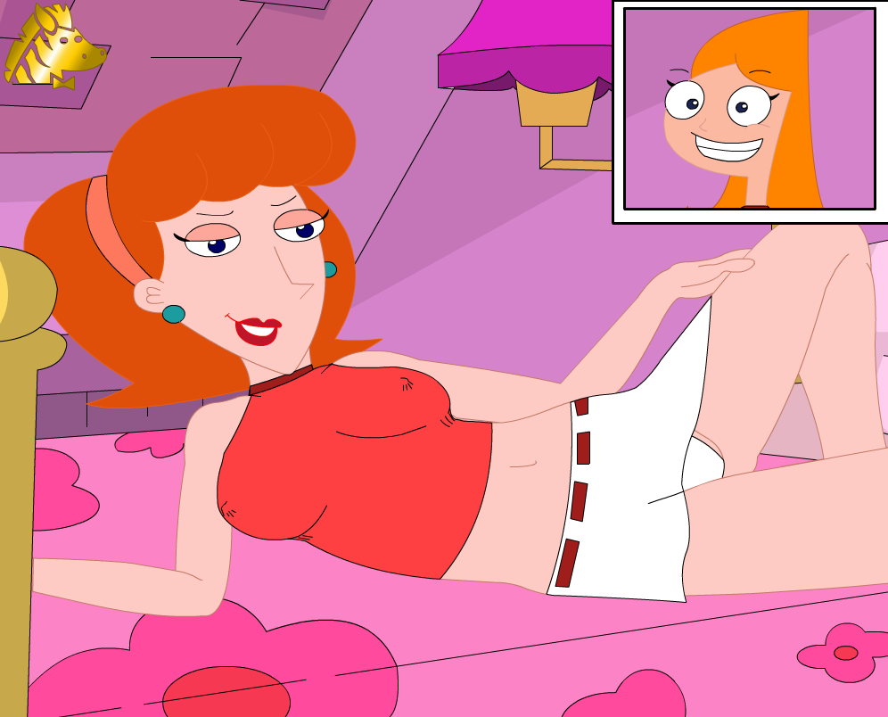 naked phineas ferb and candace Baka to test to shoukanjuu