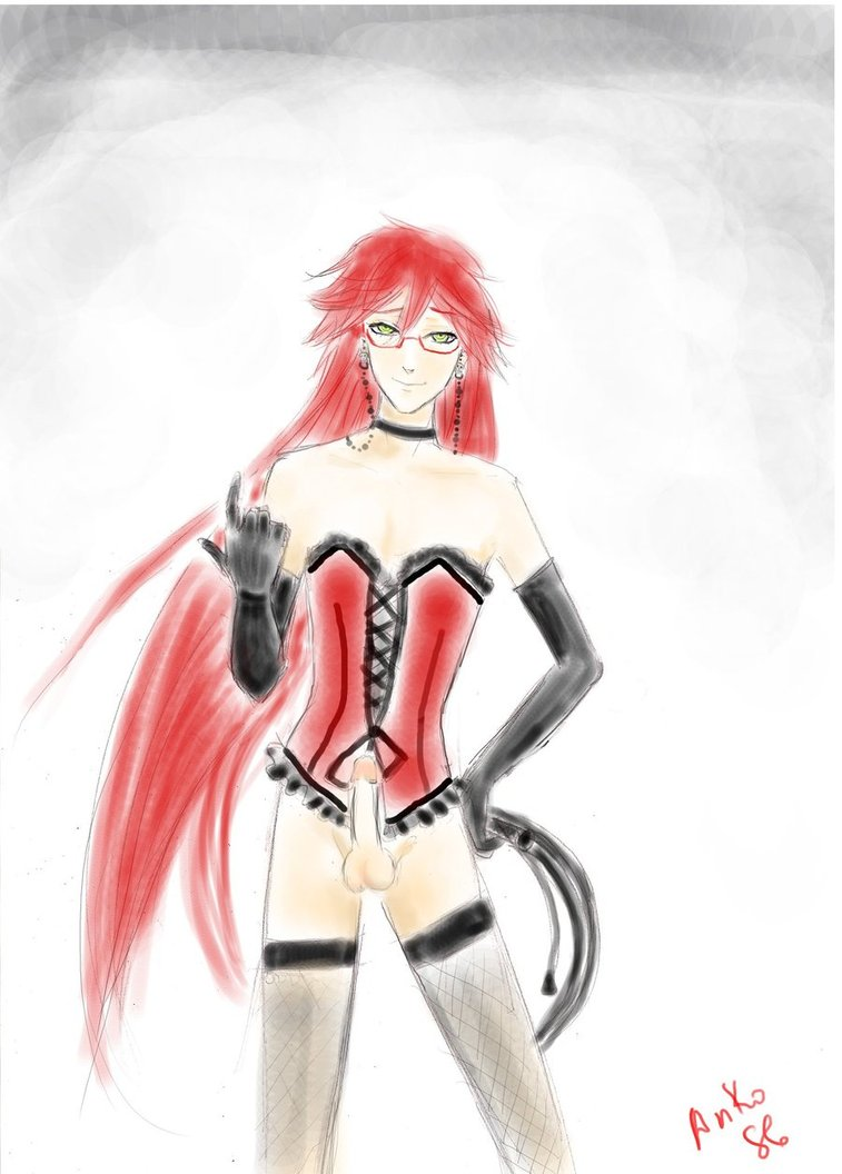 is tall how grell sutcliff Scooby doo meets boo brothers
