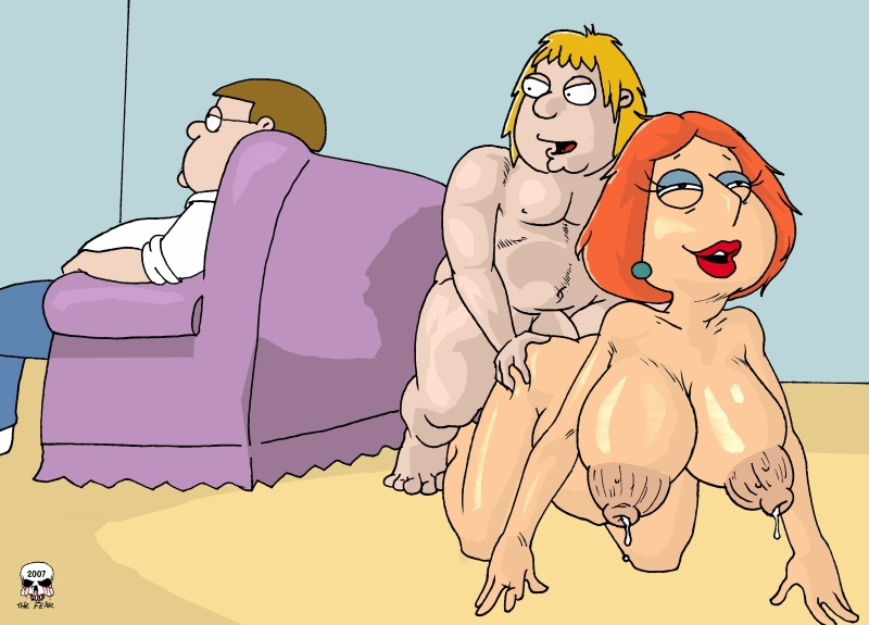 guy family lois from naked griffin Etsurako no tane the animation