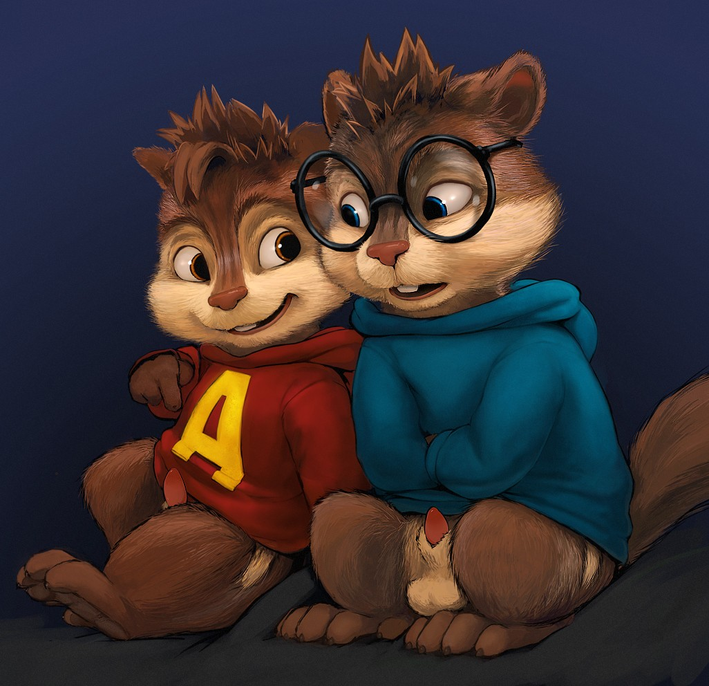 chipmunks chipettes the & the The polaroid binding of isaac