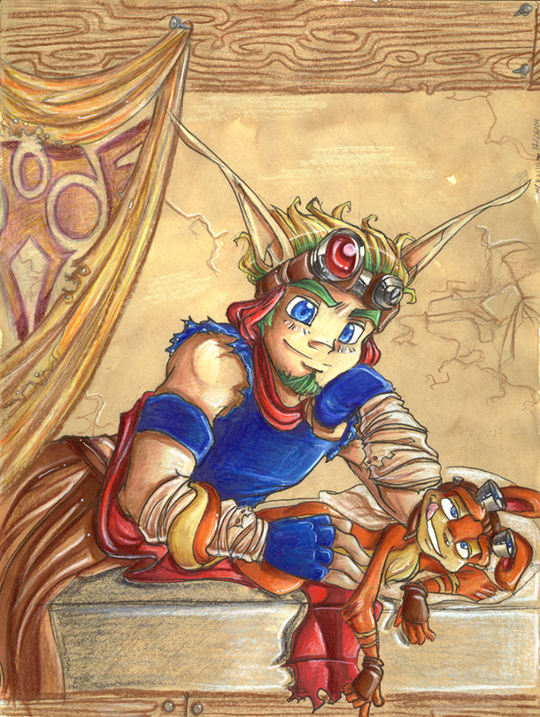 jak daxter and Loads lmg with religious intent