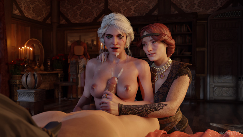 naked witcher ciri 3 the Mangle x toy chica porn