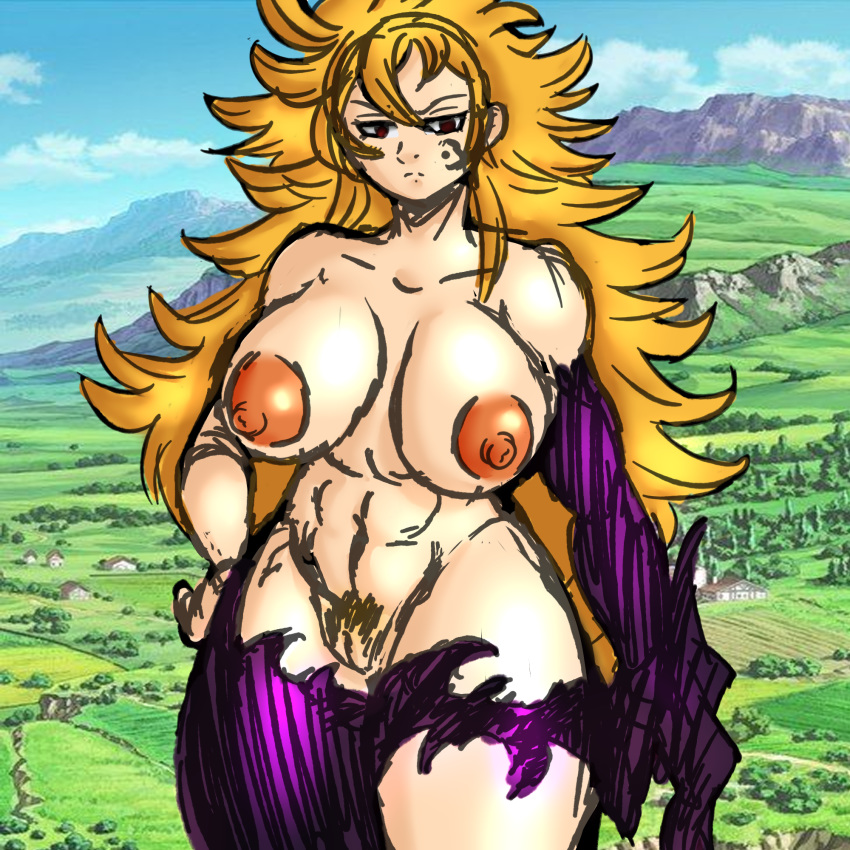 the nude seven deadly sins diane Hestia is it wrong to try to pick up girls in a dungeon